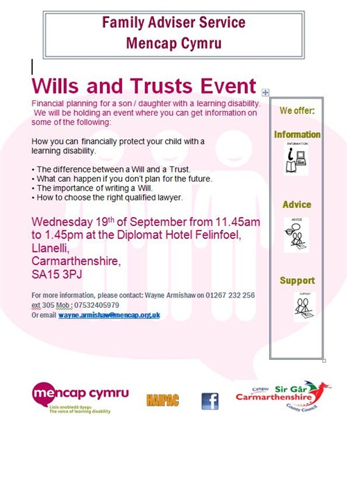Wills And Trusts Flyer