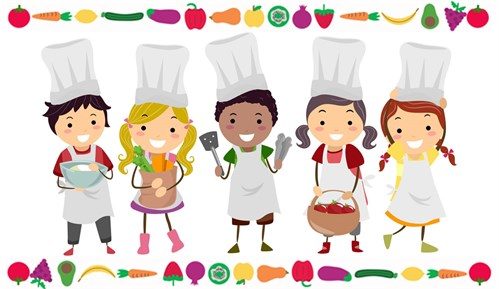 Cooking With Kids Header